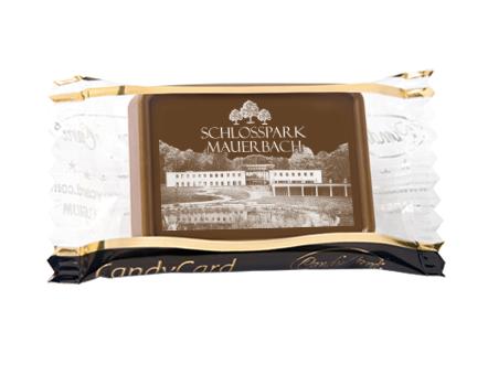 Cioccolatini personalizzati con loghi e immagini