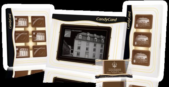 Cioccolatini personalizzati con loghi, scritte e immagini